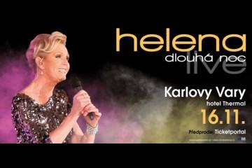 Helena Vondráčková - Helena Dlouhá noc live